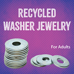 Recycled Washer Jewelry