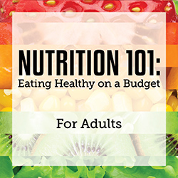 Nutrition 101: Eating Healthy on a Budget