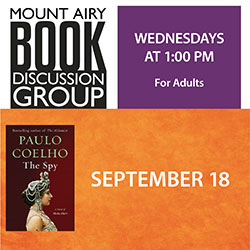 Mount Airy Book Discussion Group: The Spy