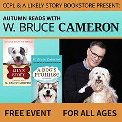An event for Dog Lovers with Author W. Bruce Cameron