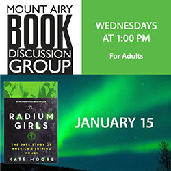 Mount Airy Book Discussion Group: The Radium Girls