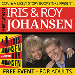 Meet Authors Iris and Roy Johansen