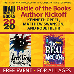 Battle of the Books Author Kickoff: Kenneth Oppel, Matthew Swanson, and Robbi Behr
