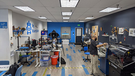 Exploration Commons Makerspace