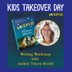 Kids Takeover Day: The Nocturnals Writing Workshop