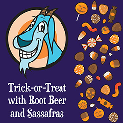 Trick-or-Treat with Root Beer and Sassafras