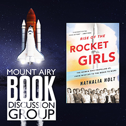 Mount Airy Book Discussion Group: Rise of the Rocket Girls