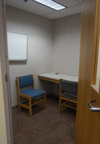 North Carroll Tutor Room with seating for two