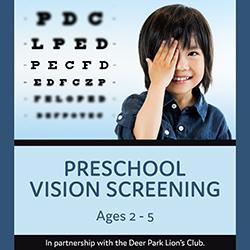 Preschool Vision Screening