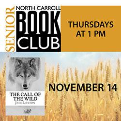 North Carroll Senior Center Thursday Book Club: The Call of the Wild