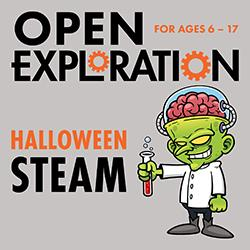 Open Exploration: Halloween STEAM