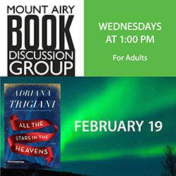 Mount Airy Book Discussion Group: All the Stars in the Heavens
