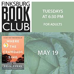 Finksburg Book Club: Where the Crawdads Sing