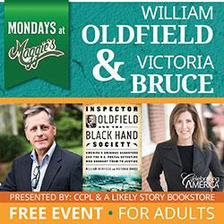 Authors William Oldfield and Victoria Bruce: Mondays at Maggie's